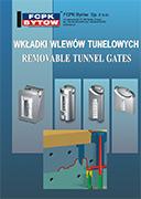katalog tunelových vtoků EXAFLOW