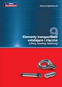 katalog spojovacích a transportních prvků PROPLASTICA