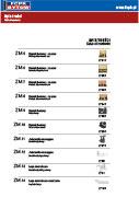 katalog upínacích komponentů