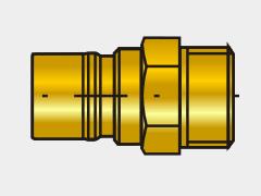 MK 116 EU 33V Rychlospojka s ventilem